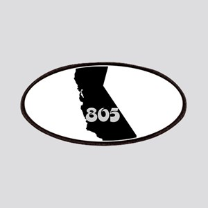 CALIFORNIA 805 [3 black/gray] Patches